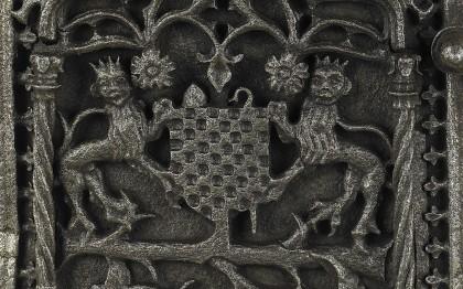 Portillons aux armes de Lottin de Charny