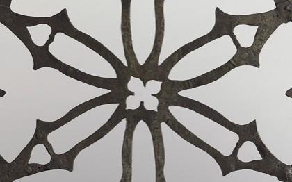 Porte d'armoire eucharistique à volet