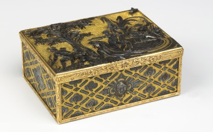 Box with tableau of Diana and Actaeon