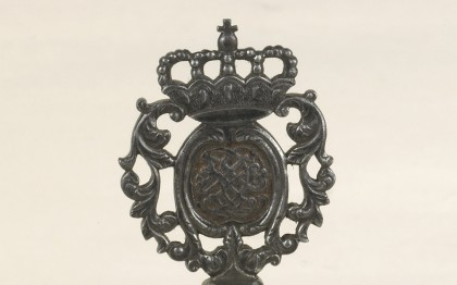 Secret key of the Duke Christian Louis II of Mecklenburg-Schwerin