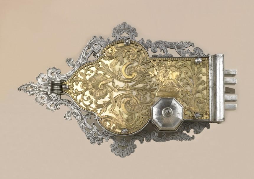 Serrure d armoire d me avec v nus au miroir et sa clef for Venus au miroir